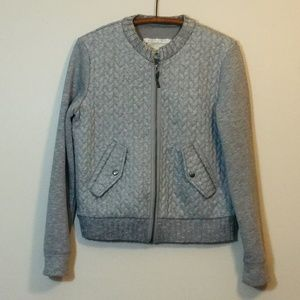 Anthropologie SATURDAY SUNDAY Quilted Gray Jacket